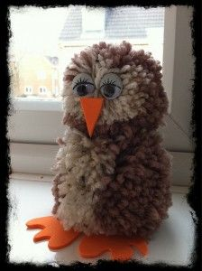 Pom Pom Owl - love this :)