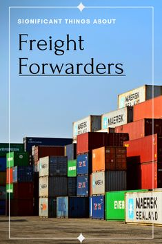 What Do the Freight Forwarders Mostly Provide? Company Banner, Bill Of Lading, Economies Of Scale, Freight Forwarder, Stationery Store, Mode Of Transport, New Career, Business Names, Company Names