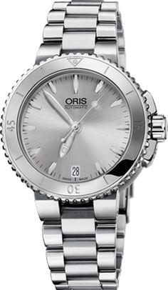 f690bd9184b 73376524141MB Oris Aquis Date Lady Stainless Steel Automatic Luxury Watch  Sale