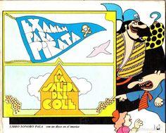 EXAMEN PARA PIRATA / A LA SALIDA DEL COLE (LIBRO SONORO PALA, 1973) INCLUYE EL DISCO DE VINILO - Foto 1