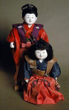 Exceedingly Rare Mitsuore Gosho Kyodai Pair. Edo Period. Late 18th/Early 19th Century