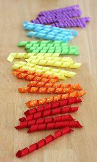 how to corckscrew ribbons