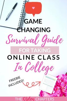 The Ultimate Guide to Acing Your Online Classes The ultimate guide to college summer classes including tips for online classes, organization, productivity, time management, study inspiration, finals, group projects, motivation, writing assignments, memorization ideas and more. Learn how easy staying organized can be with the right supplies, notes, student planners, learning techniques and study tips. Pin this article now and learn how to manage your summer classes and get your free printable…
