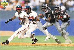 Deion Sanders x Atlanta Braves x Atlanta Falcons x 1992 200c75072