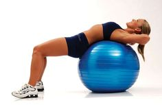 exercice swiss ball abdos