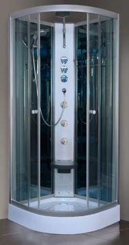 Free Standing Round Shower Stall | Bathroom & Toilet - Designs ...