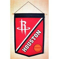 Houston Rockets NBA Traditions Banner (12x18)