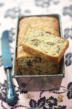 Quinoa Banana Bread From: La Tartine Gourmande, please visit Think Food, Love Food, Whole Food Recipes, Dessert Recipes, Gluten Free Banana Bread, Cupcakes, Healthy Treats, Gluten Free Recipes, Food And Drink