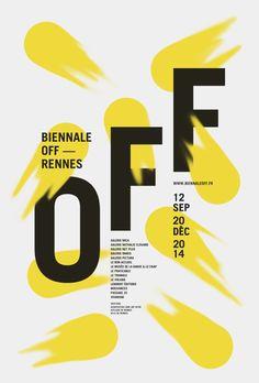 Biennale OFF 2014 Poster   Editorial
