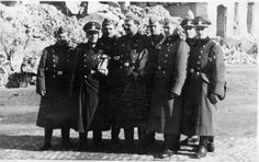 Schupo officers and policemen. Men who took pride in their killing and extermination process of 'the material' as they called those they killed