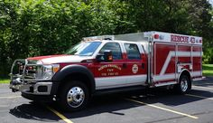 North Franklin (PA) Volunteer Fire Department pumper. Ford F-550 4x4 crew cab and chassis; Power Stroke 6.7-liter 300-hp engine; Hale MG 1,000-gpm pump.