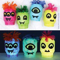 Monster Lanterns Lanterns, Kindergarten, Preschool, Halloween, Children, Fun, Young Children, Boys, Kid Garden