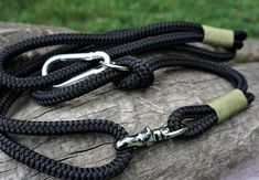 Rope Dog Leash, Climbing Rope, Blue Dog, Collar And Leash, Black Forest, Big Dogs, Leather Cord, Snug Fit, Pugs