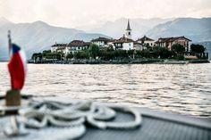 L'isola dei pescatori sul lago maggiore