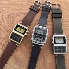 3 Old-School Casio DataBank Watches (Calculator) Casio Databank, Casio Watch, Watch Companies, Watch Brands, Orient Watch, Stowa, Buy Rolex, Iwc, Audemars Piguet