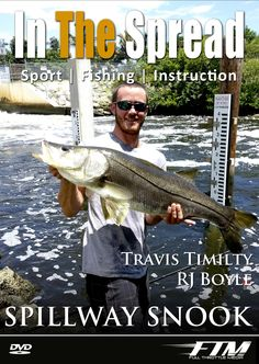 Snook Fishing Spillways - In The Spread