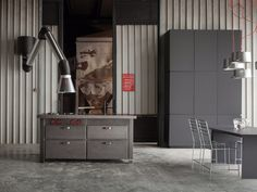New industrial-chic finish by Minacciolo