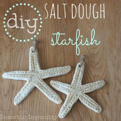 Over 29 DIY Homemade Salt Dough Ornaments for the Kids to Make this Christmas! Great Salt Dough recipes and ideas for the tree! Coastal Christmas Decor, Nautical Christmas, Beach Christmas, Christmas Crafts, Felt Christmas, Homemade Christmas, Christmas Decorations, Christmas Ideas, Salt Dough Christmas Ornaments
