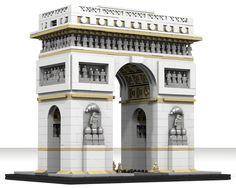 LEGO Ideas - Arc de Triomphe