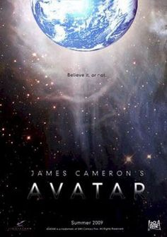 Avatar, the movie Oscar winning Director James Cameron, is now the world's most expensive movie ever made. The movie has received enormous praise, particul Avatar Film, Movie Gifs, I Movie, Fan Art Avatar, Avatar James Cameron, Science Movies, Avatar Poster, Man In Black, Dances With Wolves