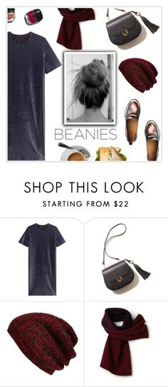 """""""Bad Hair Day: Beanies"""" by mcheffer ❤ liked on Polyvore featuring Jil Sander, King & Fifth Supply Co., Lacoste, Garance Doré and beanies"""