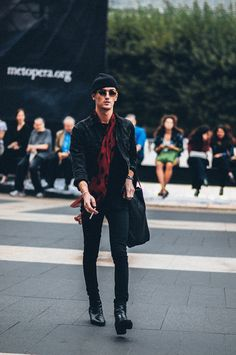 STREETSTYLE | New York Fashion Week SS15 – Day #5 » Fucking Young!