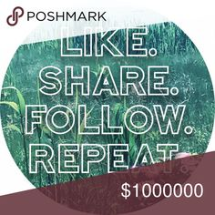 🌿 My First Follow Game 🌿 Welcome to my very first follow game! Help me build my Poshmark network while building yours, too!   •First, LIKE and SHARE this listing •Next, FOLLOW everyone who's liked this listing before you and SHARE at least one listing from their closet •And, don't forget to FOLLOW me too☺️  Happy Poshing!  xoxo Kris kate spade Other