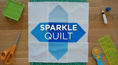 Quilt Snips Mini Tutorial: Sparkle Quilt | The Cutting Table Quilt Blog | Bloglovin'