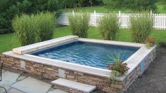WaterWell by Endless Pools - perfect for water aerobics, and will fit well in our back yard