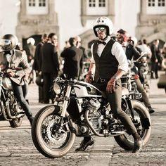 Bike Wear, Kustom Kulture, Moto Guzzi, Vintage Branding, Ducati, Biker, Vehicles, Comme, How To Wear