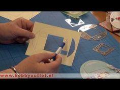 ▶ Kaarten maken bij Hobbyoutlet switch embossing - YouTube