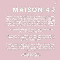 🔮CALCUL DE LA VIBRATION DE VOTRE MAISON • Il s'agit de prendre le numéro de votre maison (mentionnée dans votre adresse) et de le ramener à un nombre compris entre 1 et 9 grâce à une réduction numérique. Ex : j'habite au 328 rue de l'amour. J'additionne 3 + 2 + 8 = 13 Ce chiffre étant toujours supérieur à 9, donc je réduis une nouvelle fois : 1 + 3 = 4 La vibration de ma maison est 4. Pour un appartement : 2 énergies : celle du numéro de la rue et celle du num de l'appartement. Rue, Mystic, Working Hard, Calculus, Love