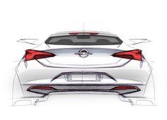 2016 Opel Astra - Design Sketch link: