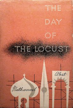 The Day of the Locust   Nathanael West    Cover by Alvin Lustig