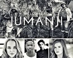 Dwayne Johnson announces Ser'Darius Blain, Madison Iseman, Alex Wolff and Morgan Turner have come aboard Jumanji 2 as plot details start to come. Karen Gillan, Kevin Hart, Movies Showing, Movies And Tv Shows, The Rock, Dwayne Johnson Movies, Jumanji Movie, Madison Iseman, 1995 Movies