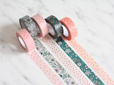 Curated Paper Goods and Stationery from Berlin by MightyPaperShop Cool Stationary, Stationary Supplies, Stationary School, Cute Stationery, Art Supplies, Gold Washi Tape, Masking Tape, Stationary Organization, Cool School Supplies