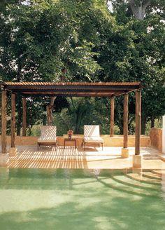 Pool…      Hacienda Style