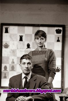 Photo of the day-Bobby Fischer and his sister, Joan Fischer