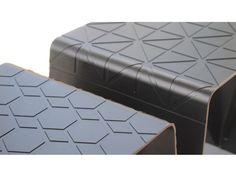 Chris Johnson's Imprint Collection features a deep etched design that replicates a textile cushion. The sleek, lightweight seating is easily transported either inside or outdoors. KIWI DESIGN C… Chris Johnson, Mattress, Bench, Cushions, Design, Home Decor, Throw Pillows, Toss Pillows, Decoration Home