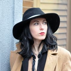 Lauren Raw Edge Fedora by Milliness on Etsy, $165.00