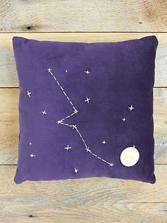 Star Sign Pillows - $98.00 - Free People