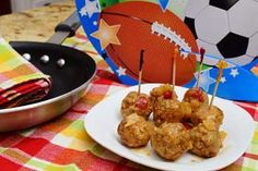 Meatballs are a delicious and filling game-day snack! Whip up a batch for your party. Turkey Sweet-and-Sours #Recipe   Carefree Cooking Magazine