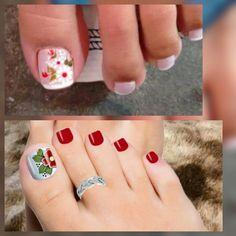Make Up, Nails, Beauty, Toenails, Nail Stickers, Fairy, September, Bikini Swimwear, Toenails Painted