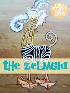 the story of the zelmgid. A story about being different. Great for start of new school year. Also great use for primary sharing time.