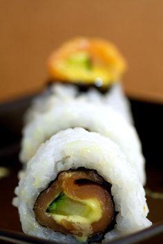 Fisherman's Roll - smoked salmon, cucumber, honey mustard