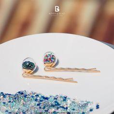 Bonny & Read 平價飾品 - 繽紛糖果球髮夾 / 2色