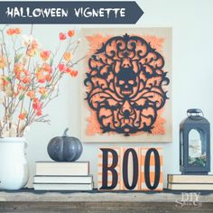 DIY Halloween decor via DIY Show Off