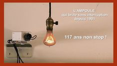 L' Obsolescence.  L' Ampoule qui dure 117 ans ! (Hd 1080) - YouTube Mason Jar Lamp, Ecology, Table Lamp, Make It Yourself, Youtube, Light Bulb, Lamp Table, Youtubers, Youtube Movies