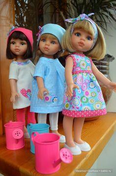 Розовое с голубым / Одежда и обувь для кукол - своими руками и не только…