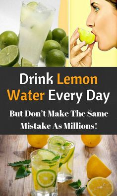 Drink lemon water every day, but don't make the same mistake as millions! - world healthy life Herbal Remedies, Health Remedies, Healthy Drinks, Healthy Tips, How To Eat Healthy, Healthy Juices, Eating Healthy, Healthy Foods, Healthy Recipes